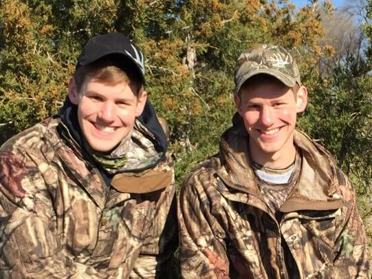 First-year students Nathan and Thomas Krick are representing NWU at NGAL 3 where they will pitch their idea for an outdoor television show, Identical Draw.