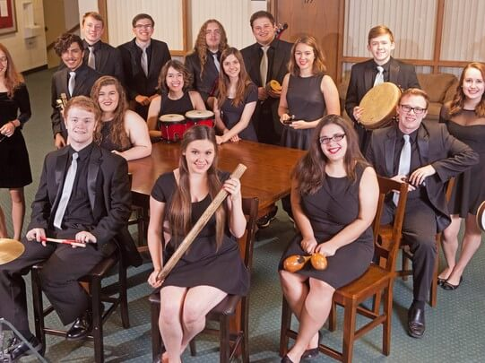 Nebraska Wesleyan's Touch of Class Jazz Choir is a 16-member select ensemble. The choir's spring tour takes them through Iowa in early March.
