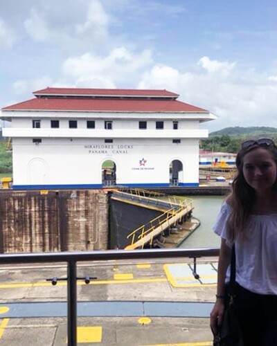 Sierra Richey, internship with U.S. Grains Council, Panama City