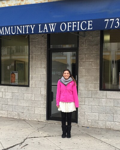 Savannah Lopez, a sophomore criminal justice major, spent her spring semester as a participant in the Chicago Center for Urban Life and Culture Program.