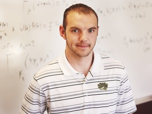 Carter Lyons, a junior mathematics and physics major, is one of just 211 undergraduates in the country to win the prestigious Barry Goldwater Scholarship. He is the eighth NWU student to win the honor.