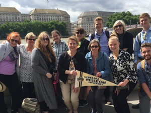 NWU nursing professors Molly Fitzke and Linda Hardy led a group of undergraduate and graduate nursing students to London to compare healthcare systems between the U.S. and UK.