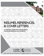 Resumes, References & Cover Letters