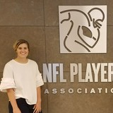"As a self-described ""big time football fan,"" senior Brittany Pair knew an internship with the NFL Players Association would give her valuable experiences for a career in sports management."