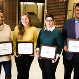 Two students, a professor and staff member were selected as 2018 Diversity Advocate Award winners.