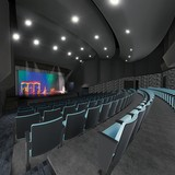Artist's rendering of McDonal Theatre renovation project.