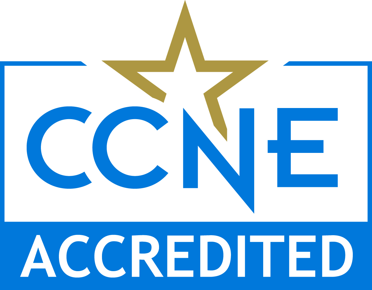 CCNE accreditation seal