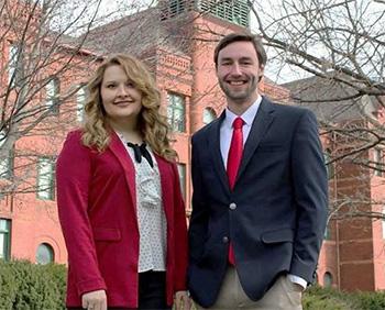 Kate Richerson and Sam Trofholz