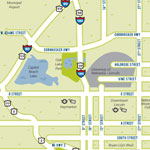 thumbnail view of downloadable Lincoln map