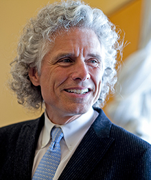 Photo of Steven Pinker by Rose Lincoln