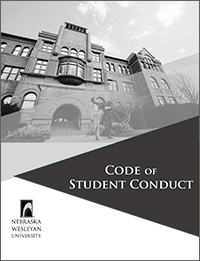 Code of Student Conduct handbook cover art
